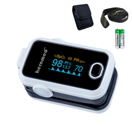 Kernmed OLED Finger Pulsoximeter A310 weiss + Alarm +...