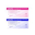50 David Ovulationstest 10 miu/ml + 10 Schwangerschaftstest - Streifen