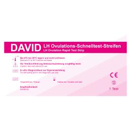10 x David Ovulationstest Streifen 10miu/ml LH Schnelltest