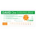 David One 25 x Ovulationstest 0-80 miu/ml mit LH-Wert Anzeige