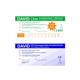 David One 20 Ovulationstest 0-80 miu/ml + 5...