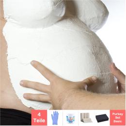 Purbay Premium Babybauch Gipsabdruck Set BASIC